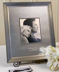 engravable wedding guest book wedding guestbook signature frame i do engravables