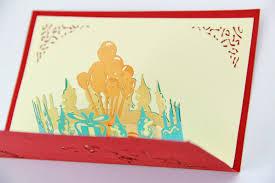 aliexpress com buy dolphin with balloon birthday card 3d card