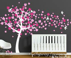 breezy cherry tree wall decal the decal lab
