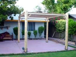 Diy Backyard Canopy Diy Patio Shade Sail Backyard Shade Ideas Homemade Outdoor Shade