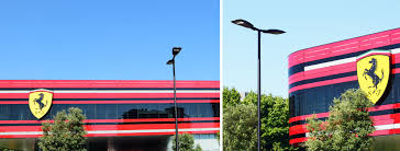 Maranello Italy by Led Street Lighting Project By Aec Illuminazione For Maranello At