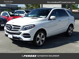mercedes suv used 2017 used mercedes gle gle 350 4matic suv at mercedes of
