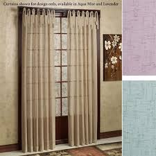Tie Top Curtains White Collection In Tie Top Curtains And Linen Curtain Panel White Tie
