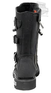 men s tall motorcycle riding boots 96035 harley davidson mens axel black leather high cut boot