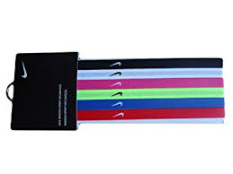 the hairband nike sport bands headband hairband multicolours 6 pack football