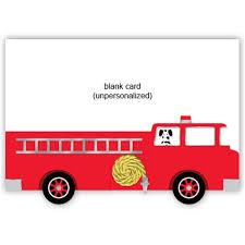 fire truck dog baby birthday invitations baby cachet