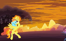mlp halloween background my little pony rainbow dash and spitfire