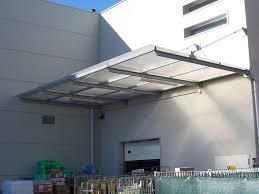 pensilina tettoia in policarbonato plexiglass pensiline in plexiglass tettoie e pensiline caratteristiche