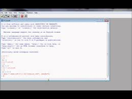 r1 r tutorial on the data frame econometrics in r youtube