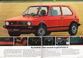 old volkswagen volvo ausmotive com volkswagen golf brochure u2013 1980