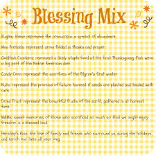 thanksgiving blessing mix tag fall