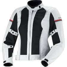 white motorcycle jacket ixs alva lady textile jacket white black grey motorcycle