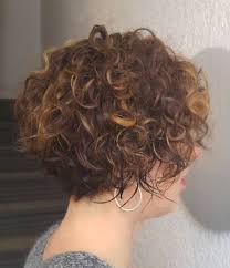 stacked in back brown curly hair pics 50 most delightful short wavy hairstyles