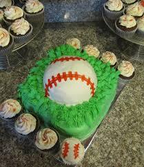 Celebrate My Whimsy Baseball Cake