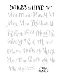 best 25 calligraphy m ideas on pinterest calligraphy