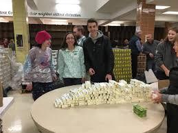 students celebrate thanksgiving through volunteer work the rubicon