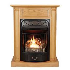 Btu Gas Fireplace - the windsor gas fireplace with oak mantel 20 000 btu