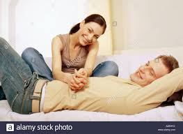 bedroom talk education photography com 1218829 indoor flat bed bedroom room woman man couple young 25 30 brunette fair haired lie