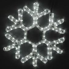 lighted led snowflakes novelty lights