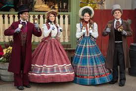 knott u0027s merry farm offers casual christmas entertainment with