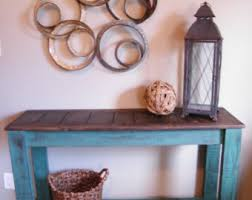 Side Buffet Server by Rustic Console Table Etsy