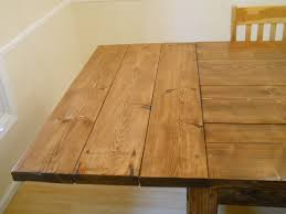 Ana White Farm House Dining Room Table Modified With Breadboard - Dining room tables with extensions