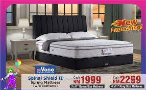 Vono Bed Frame Vono Fair Is Coming Back Only At Chan Chain Store Sabah