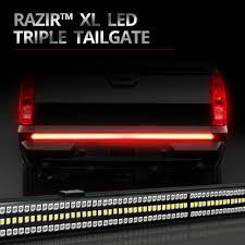 led brake lights for trucks razir xl backbone beam led tailgate light bar hidextra