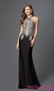 evening gown lace high halter neck evening gown promgirl