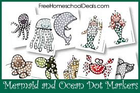 free mermaid printables crafts