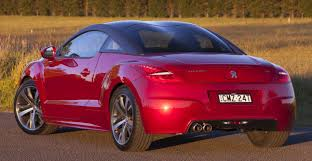 peugeot cars australia peugeot rcz enters runout phase with 14k price cut 49 990