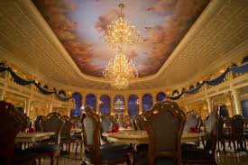 Be Our Guest Restaurant Hidden Mickey Hidden Mickey Guy - Beauty and the beast dining room