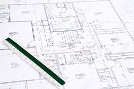residential home floor plans residential home blueprints with a hand made house model stock