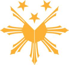 philippine sun logo vector ai free