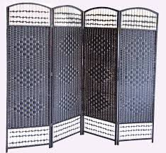 Wicker Room Divider Black Wicker Room Divider Screen Room Dividers Uk