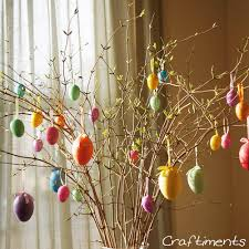 easter egg tree craftiments easy and frugal easter egg tree