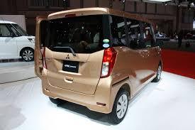 mitsubishi ek wagon 2013 tokyo auto show live u2013 mitsubishi ek space u0026 ek custom