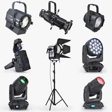Lighting Stores Houston by 3d Stage Lights Turbo Squid Blue Social Media Piece Pinterest