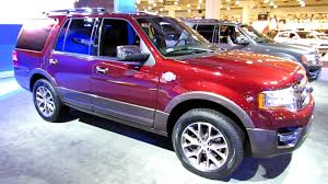 ford expedition red 2015 ford expedition king ranch exterior and interior walkaround