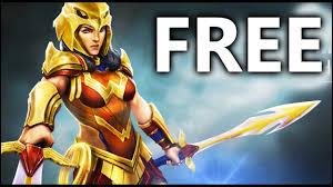 free striker woman gameplay dc legends