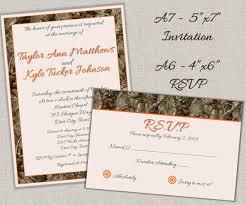 Camo Wedding Invitations Hunting Camo Wedding Invitations A7 And Rsvp By Lanispartydesigns