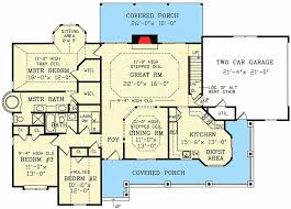 ranch style floor plans farmhouse style ranch 3814ja architectural designs house plans