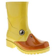 womens boots schuh womens yellow juju jellies kigu duck boots schuh wardrobe wish