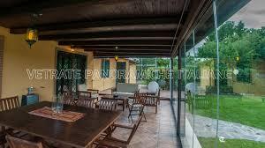 vetrata veranda chiusura della veranda vetrate panoramiche italiane