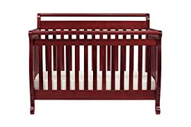 Affordable Convertible Cribs Davinci Emily 4 In 1 Convertible Crib In Rich Cherry