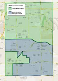 Zip Code Map Mesa Az by Cooley Middle Cooley Middle