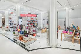 shop in shop interior macy u0027s herald square debuts a techy coach shop in shop racked ny