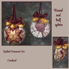 44 best my quilted ornaments images on quilted