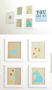 Animal Wall Decor For Nursery Animal Wall Decor For Nursery Glittery Animal Print Wall Click