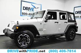 jeep wrangler unlimited softtop 2015 jeep wrangler unlimited sport 4wd 1 own top 17in alloys